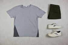 Sunspel - T Shirt - Grey/Charcoal - Small