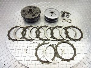 2009 07-09 Kawasaki KLE650 KLE650A Versys Lot Clutch Basket Inner Outer Plates