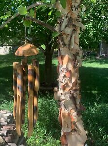 Coconut  Bamboo Wind Chimes FREE SHIP