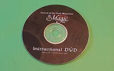 Awesome instructional Dvd Secrets of the Great Magicians Royal Magic Set