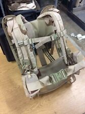 All New USGI Molle II Frame , Belt and Shoulder Straps DCU Desert Camo Combo
