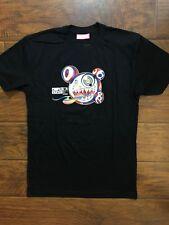 Rare Vintage ComplexCon Takashi Murakami Black Tee Shirt Size Small Bape Supreme