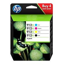 1 x HP No 912XL ( Multi Pack ) BCMY OEM Original OfficeJet Ink Cartridges - 825