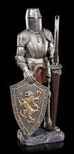 Ritter Figura Con Soporte de Lápiz En Lanza - Decoración Edad Escritorio