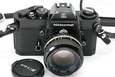 Nikon Nikkormat EL + Nikkor 50mm 1:1,4