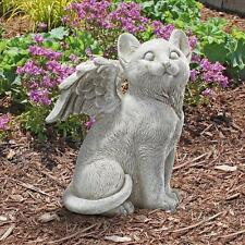Kitty Cat Feline Winged Pet Angel in Heaven Love Lost Companion Memorial Statue