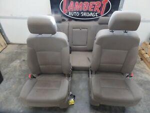 14-18 SILVERADO 1500 SEATS CREW CAB SEAT SET 505456