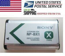 Brand NEW OEM Sony NP-BX1 npbx1 Li-ion Battery for Camera Cyber-Shot 1240mAh