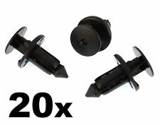 20x Lexus & Toyota Plastic Rivets for Bumpers, Wheel Arches & Sill Moulding Clip