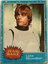 Star Wars Original Vintage Complete Trading Card Set 1977 Topps Blue Series 1-66