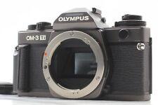 [Near Mint+++] Olympus OM-3 Ti 35mm SLR Film Camera Body Black W/ Grip Japan