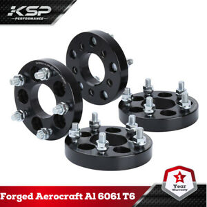 """4X 1""""/25MM Wheel Spacers Adapters 5x100 to 5x114.3 ( 5x4.5 ) For Toyota Chrysler"""