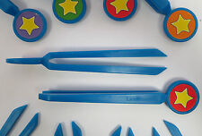 Jumbo plastic CHILDRENS EASY GRIP CLASSROOM TWEEZERS School Nature & Science