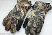 Realtree Hunting Gloves Waterproof Windproof Breathable Insulated Tactical Glove
