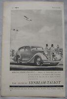 1948 Sunbeam-Talbot Original advert No.1