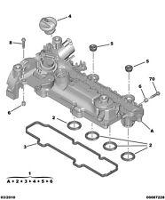 GENUINE FORD FIESTA 1.4 TDCI DURATORQ injecteur de Seal x4 Peugeot Citroën 1.4 IDH bas