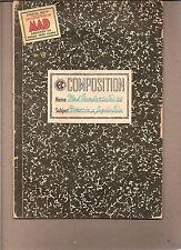 MAD  #20  1955 'HUMOR IN THE JUGULAR VEIN GAINES/KURTZMAN  COMPOSITION-c ... GD+