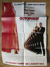 Filmposter * Kinoplakat * A1 * 1983 * James Bond 007 * Octopussy **