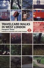 Travelcard Walks in West London, Sharp, Margaret