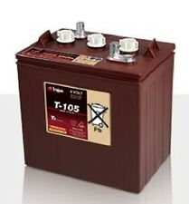 Trojan T-105 6V 225Ah Quantity (4) (FOUR BATTERIES) FREE DOMESTIC SHIPPING!!!!!!