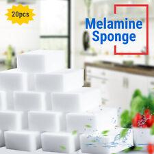 20pcs Magic Melamine Sponge White Eraser Sponge Foam Pads For Cleaning Kitchen