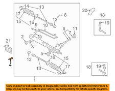 GM OEM Steering Gear-Mount Bolt 11515781
