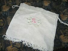 Antique Victorian Edwardian Reticule Purse-1900s-Sewing Bag
