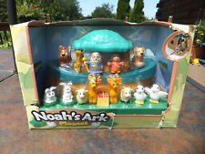"Excite Boxed Noah's Ark 15 Piece Toy Playset 12"" Boat"