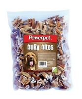 Powerpet Bully Bites - Natural Dog Chew - 1lb Pack - Odorless-BRC Certified