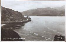 Coes Faen And Estuary, Barmouth - Real Photo 1932 Postcard