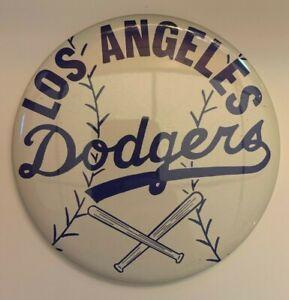 """Vintage 1970's Los Angeles Dodgers 6"""" Pinback Button"""