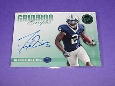 2009 Press Pass Derrick Williams Gridiron Rookie Autograph/25 Psu Nittany Lions