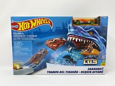 NEW Hot Wheels Sharkbait Play Set Car and Track Set Race Car NIB