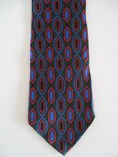 Etro Tie Necktie olive green red blue black silk