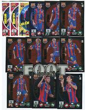 FC BARCELONA  2015 Adrenalyn  2 Balón oro 2 Ed.Lim. 5 Supercracks + ... 38 Cards