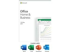 Microsoft Office Home & Business 2019 | One-time purchase, 1 device | PC/Mac Key