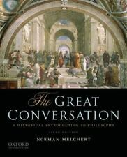 The Great Conversation : A Historical Introduction to Philosophy by Norman...