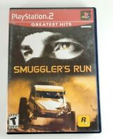 Smuggler's Run (PlayStation 2, PS2) Complete W Manual