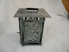 Metal & frosted glass candle holder lantern (unused), EXCELLENT CONDITION