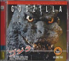 GODZILLA - VOLUME TWO 1984-1985 * NEW SOUNDTRACK CD * NEU *