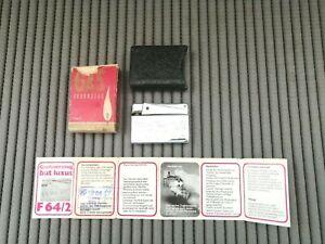 Gas Feuerzeug but luxus F 64/2 mit Anleitung komplett- Kaufdatum 17.8.1979 Top ♥