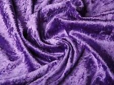 Pannesamt Samt Stoff Meterware weich fallend glänzend Purple EUR 3,97/m