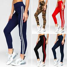 Leggings Sporthose Trainingshose Leggins Hose Fitness Slim Damen Mix BOLF Motiv