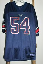 Vintage~PURE POLARIS~Navy Blue~FOOTBALL Style~JERSEY~#54~L XL~RARE~Super C@@L!