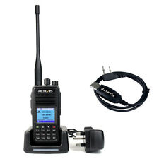 Retevis RT3S Walkie Talkie Dual Band UHF+VHF DMR Digital TDMA Two Way Radio+USB