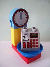 LEGO DUPLO Supermarkt 5683 5604 6137 10546 10587 Waage mit Kasse 5-teilig NEU