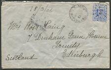"New South Wales - Postal History: ""MOUNT VICTORIA"" Mar.1906 cds alongside 2d"