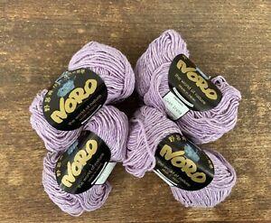 4 x 50g ball Luxury Noro Cash Iroha yarn col 79