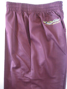 New! Bowlswear Men's Maroon Comfort Fit Trousers Only $47 with Free Postage!