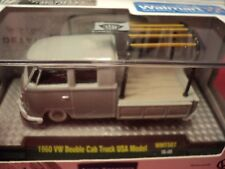 M2 Machines 1960 Volkswagen Double Cab Truck 1/64 scale NIB 1/ 7,380 produced